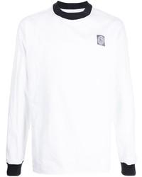 Giorgio Armani Logo Patch Long Sleeve Top