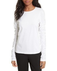 Long sleeve mercerized cotton tee medium 5267237
