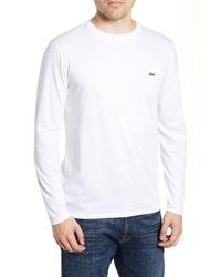 Lacoste Long Sleeve Pima Cotton T Shirt