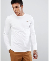Dickies Long Sleeve T Shirt With Pocket In White