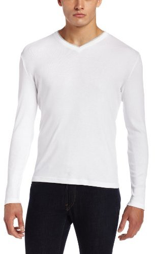 Calvin Klein Long Sleeve V Neck Shirt | Where to buy & how to wear