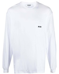 MSGM Long Sleeved Logo Sweatshirt