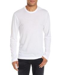 James Perse Melange Knit Long Sleeve T Shirt