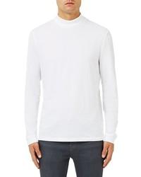Topman Mock Neck Long Sleeve T Shirt