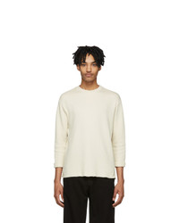 BILLY Off White Thermal T Shirt