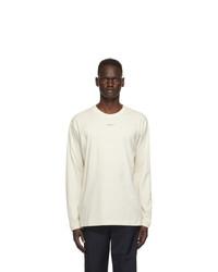 Ambush Off White Xl Logo Long Sleeve T Shirt