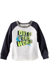 Osh Kosh Oshkosh Bgosh World Raglan Tee White 7x