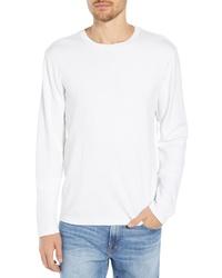 Frame Raw Hem Slim Fit Crewneck T Shirt