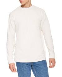 d17a12d9 Men's White Long Sleeve T-Shirts by Topman | Men's Fashion ...