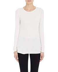 Barneys New York Thermal Knit Long Sleeve T Shirt