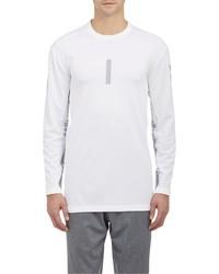 Barneys New York Westbrook Xo X Jordan Perforated Jersey Long Sleeve T