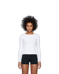Gil Rodriguez White Bellevue Long Sleeve T Shirt