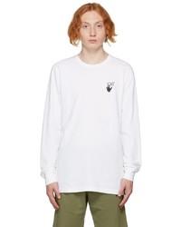 Off-White White Caravaggio Lute Long Sleeve T Shirt