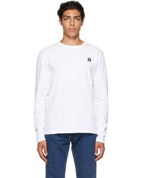Wood Wood White Mel Long Sleeve T Shirt