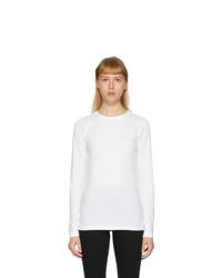 Rag and Bone White The Long Sleeve T Shirt