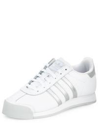 adidas Samoa Original Leather Sneaker Whitesilver