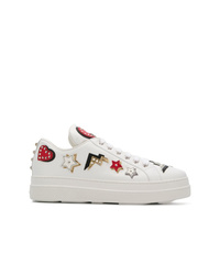 Prada Badge Patch Sneakers