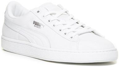 Puma Basket Classic Canvas Sneaker, $55