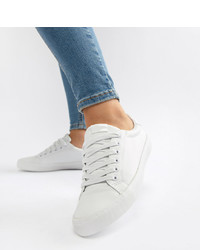 ASOS DESIGN Dustin Lace Up Trainers Pu