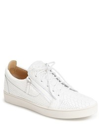 Embossed side zip sneaker medium 1149957