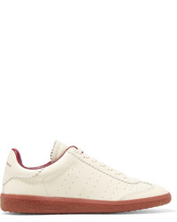 Etoile Isabel Marant Isabel Marant Toile Bryce Perforated Leather Sneakers Off White