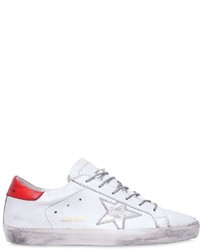 Golden Goose Deluxe Brand 20mm Super Star Leather Sneakers