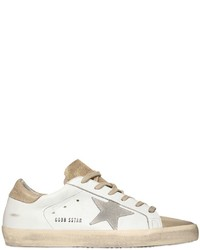Golden Goose Deluxe Brand 20mm Super Star Leather Suede Sneakers