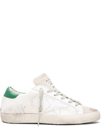 Golden Goose Deluxe Brand Golden Goose Superstar Low Top Leather Sneakers