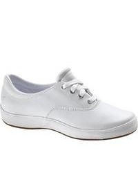 Grasshoppers Janey Leather White Casual Shoes