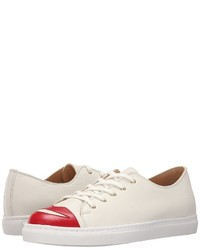Charlotte Olympia Kiss Me Sneakers Lace Up Casual Shoes