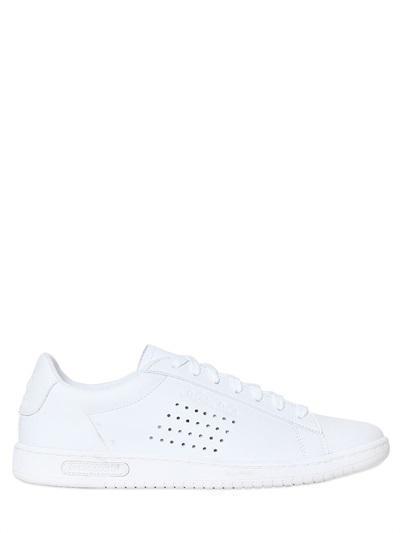 bd58cd93aa90 ... White Low Top Sneakers Le Coq Sportif Arthur Ashe Original Leather  Sneakers ...