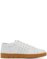Loewe White Leather Sneakers