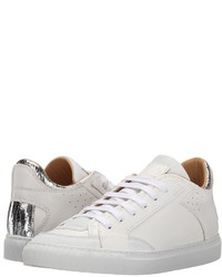 MM6 MAISON MARGIELA Metallic Crackle Low Top Sneaker Lace Up Casual Shoes