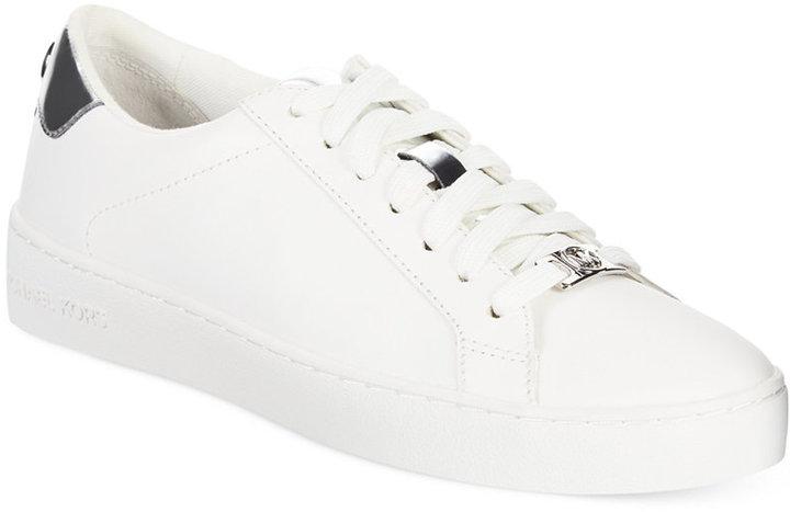 0ddcf0bf4e4e ... Low Top Sneakers MICHAEL Michael Kors Michl Michl Kors Irving Lace Up  Sneakers ...