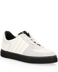 Proenza Schouler Mixed Media Low Top Sneakers