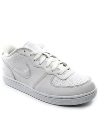 Nike Air Zoom Infiltrator Whitewhite Leather Sneakers