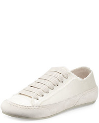 Pedro Garcia Parson Satin Low Top Lace Up Sneaker