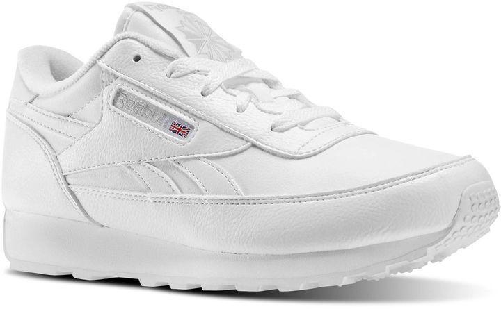 8cd3ace59159 ... White Low Top Sneakers Reebok Classic Renaissance Wide D ...