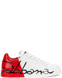 White red portofino sneakers medium 4423717