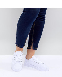 ASOS DESIGN Wide Fit Daisy Trainers