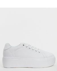 Truffle Collection Wide Fit Flatform Trainers