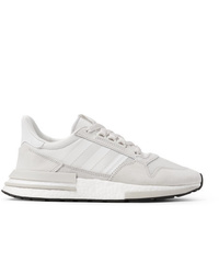 adidas Originals Zx 500 Rm Suede Mesh And Leather Sneakers