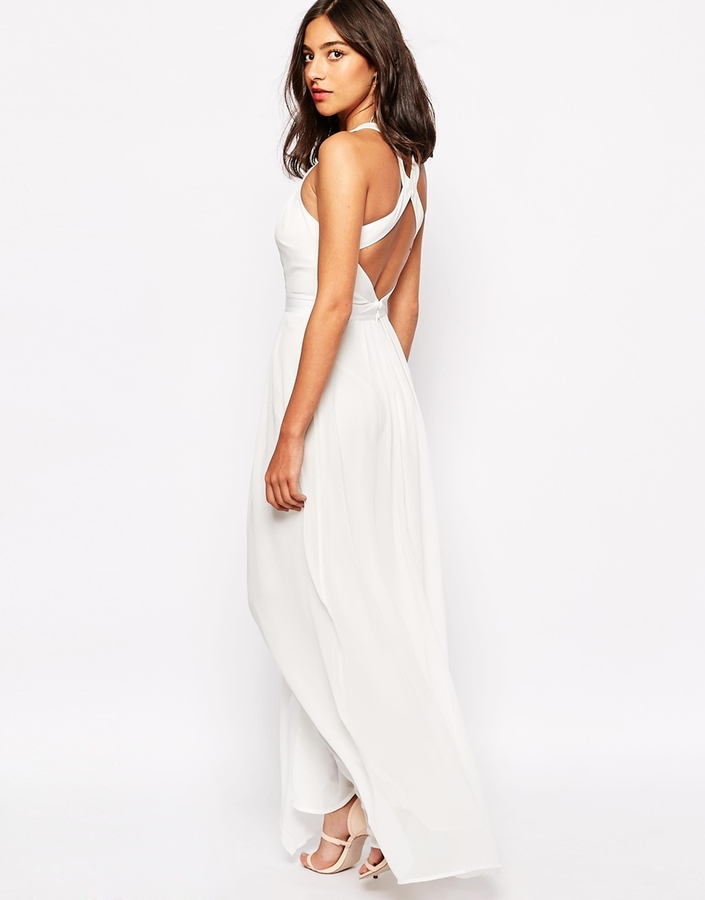 Warehouse Cross Back Maxi Dress Where To Buy How To Wear