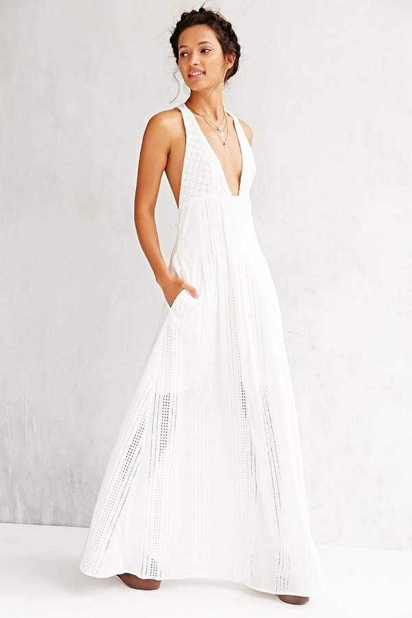 White Maxi Dress Jet Set