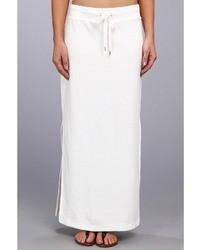 MICHAEL Michael Kors Michl Michl Kors Terry Cloth Maxi Skirt W Side Slits