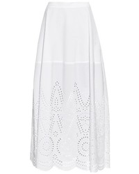 Penelope broderie anglaise panel maxi skirt medium 527898