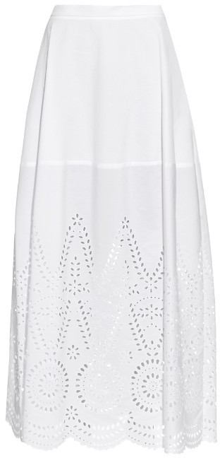 0d3cf6a6c Penelope Broderie Anglaise Panel Maxi Skirt. White Maxi Skirt by Stella  McCartney