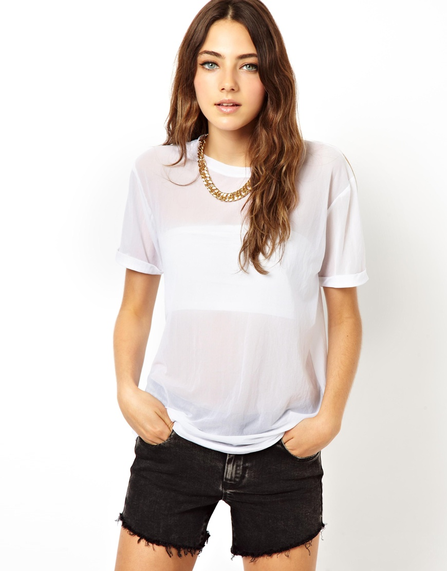 Asos Mesh T Shirt Where To Buy How To Wear