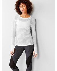 Fit breathe mesh long sleeve tee medium 150541