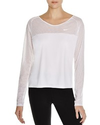 Nike Run Fast Mesh Paneled Top